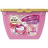洗濯洗剤 ジェルボール3D 柔軟剤入り ボールド 癒しのプレミアムブロッサムの香り 本体 17個