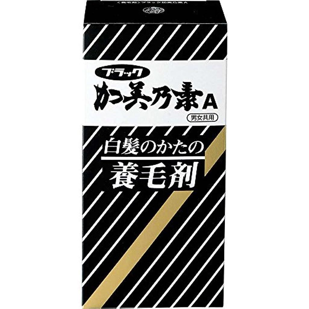 哀れな普遍的なむき出しブラック加美乃素A グリーンフローラルの香り 143mL 【医薬部外品】