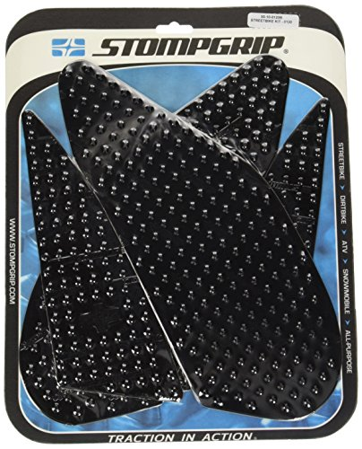 STOMPGRIP(ストンプグリップ) トラクションパッド タンクキット VOLCANO エラストマー樹脂 ブラック GSX-S1000(15-) GSX-S1000F(15-) 55-10-0120B