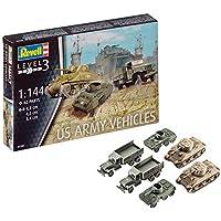 ドイツレベル 1/144 第二次世界大戦 アメリカ陸軍車輛セット M4 & M8 & CCKW プラモデル