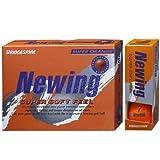 ブリヂストン NEWING スーパーソフトフィール ビビッドカラーボール NQ 5ダースセット 5ダース(60個入り) スーパーオレンジ