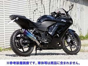 リアライズ:Aria チタン スラッシュエンド (スリップオン) ニンジャ250R (JBK-EX250K)用マフラー