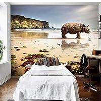 Generic 大カスタム壁紙壁画Hdシルク花3Dテレビリビングルームの寝室のソファの背景壁画壁紙-200X140Cm