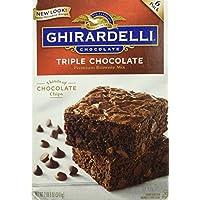Ghirardelli ギラデリ  トリプル チョコレート ブラウニー ミックス特大3.4Kg(6袋x 566g)【並行輸入品】