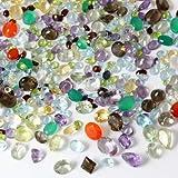 100個以上のカラット ミックス宝石 天然ルース宝石 ロット 卸売 ルースミックス宝石 ルース天然卸売宝石 ミックスビバリーオーク鑑定書付き