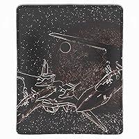 ゲーム用マウスパッド テーブルマット 厚さ3mmのゴム製 抽象的なサイエンスフィクション宇宙船の月 滑り止め ラップトップ