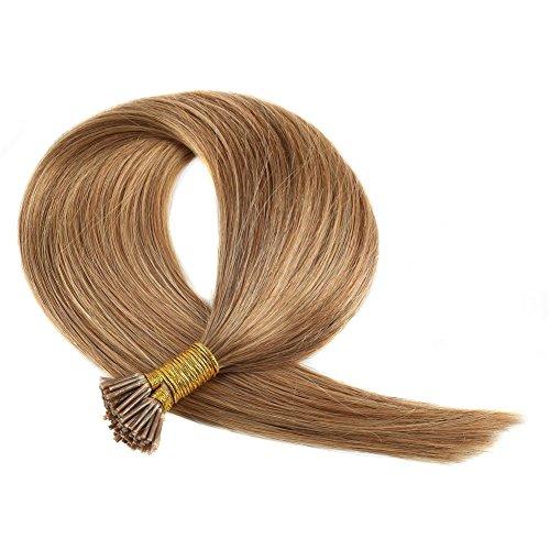 Remeehi 最高級レミーエクステ 人毛 簡単装着 チップ式 100%のレミーエクステ人間の毛髪 エクステンション 簡単装着 エクステ 人毛 100本セット 50g (1本あたり0.5g)38cm #6 Dark Chocolate Brown