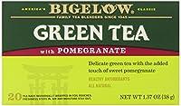 Bigelow Tea - ザクロ緑茶 - 1ティーバッグ