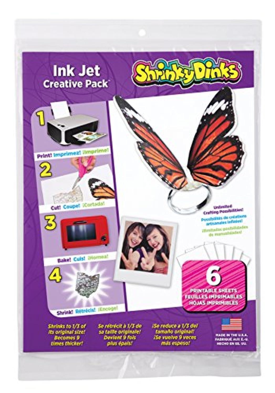 Shrinky Dinks - Ink Jet Creative Pack--6pcs