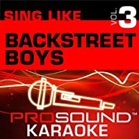 Sing Like Backstreet Boys Vol. 3 [KARAOKE]