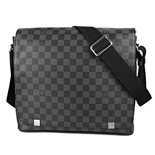 ルイヴィトン(Louis Vuitton) ショルダーバッグ N41029 ダミエ グラフィット ブラック 黒/グレー [並行輸入品]
