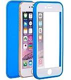 iPhone6/6S/6Plus/6S Plus ケース スマホ 防水 防塵 耐衝撃 5色 (iPhone6/6S ブルー)