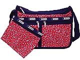 LeSportsac レスポートサック ショルダーバッグ DELUXE EVERYDAY BAG SAILING FLORAL RED(セイリングフローラルレッド)7507-D838 [並行輸入品]