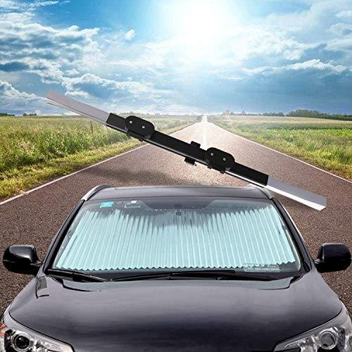 Super PDR 車用サンシェード 日除け シェード オーニング 車用 遮光 カーサンシェード 紫外線対策 遮熱 自動収縮
