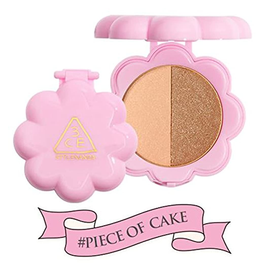 病気ちなみに加入3CE スリーコンセプトアイズ LOVE デュオ シャドウ 3.2g PIECE OF CAKE (在庫) [並行輸入品]