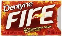 DENTYNE ファイアーガム (12 パック) 16-ct パックあたり DENTYNE FIRE gum (Pack of 12) 16-ct per pack