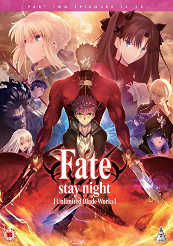 Fate Stay Night Unlimited Blade Works DVD-BOX 2/2(第13-25話)(海外inport版)