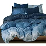 Essina Microfiber Queen Quilt Cover Duvet Cover Doona Cover Set 3pc Arcadia Collection, Soft and Lightweight, Livana