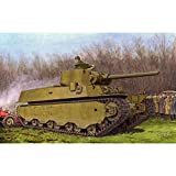 プラッツ 1/35 第二次世界大戦 アメリカ陸軍 M6A1重戦車 プラモデル