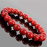【女性的な魅力をUP】天然石 赤珊瑚(コーラル)ブレスレット/6~6.5mm