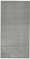 ヘイコー 紙袋 マチ付 ファンシーバッグ S4 ギンガムミニ クロ 16x6.5x32cm 100枚