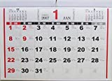 2017年 カレンダー 壁掛け A3 ベーシック 横 Kyowa