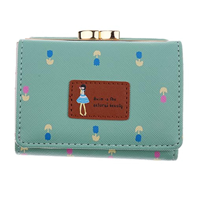SONONIA 女性 財布 ショート ハンドバッグ 二つ折り  ウォレット  クラッチ カード ホルダー  大容量 人気 全6色
