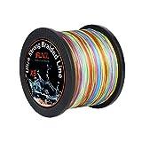 ランケル(RUNCL)高強度 PEライン 釣り糸 8編 5色 マルチカラー100m 300m 500m 1000m【0.4号 0.6号 0.8号 1号 1.2号 1.5号 2号 3号 4号 5号 6号 7号 8号】