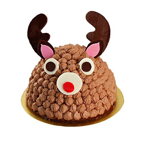 クリスマスケーキ 2018 チョコレートケーキ 立体ケーキ トナカイのショコラケーキ 3Dケーキ ギフト プレゼント 予約