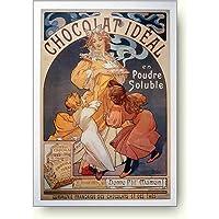 アルフォンス ミュシャ 理想のチョコレート アートポスター