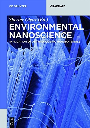 Environmental Nanoscience: Implication of Anthropogenic Nanomaterials (De Gruyter Textbook)