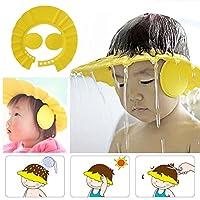 シャンプーハット シャワー用防水帽 子供のため 赤ちゃん  ベビー 調節可能 安全保護 シャワー帽子