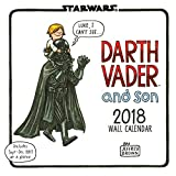 Star Wars Darth Vader and Son 2018 Wall Calendar