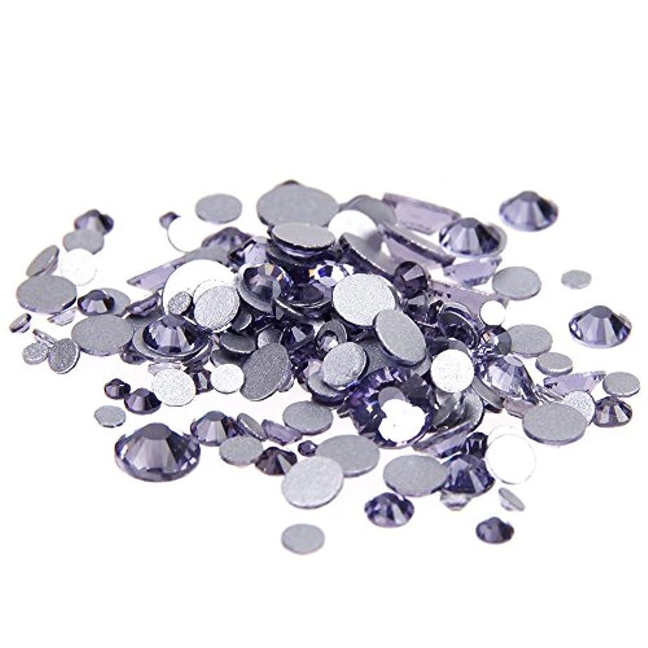 正気証明尊敬Nizi ジュエリー ブランド タンザナイト ラインストーン は ガラスの材質 ネイル使用 型番ss3-ss34 (SS12 1440pcs)