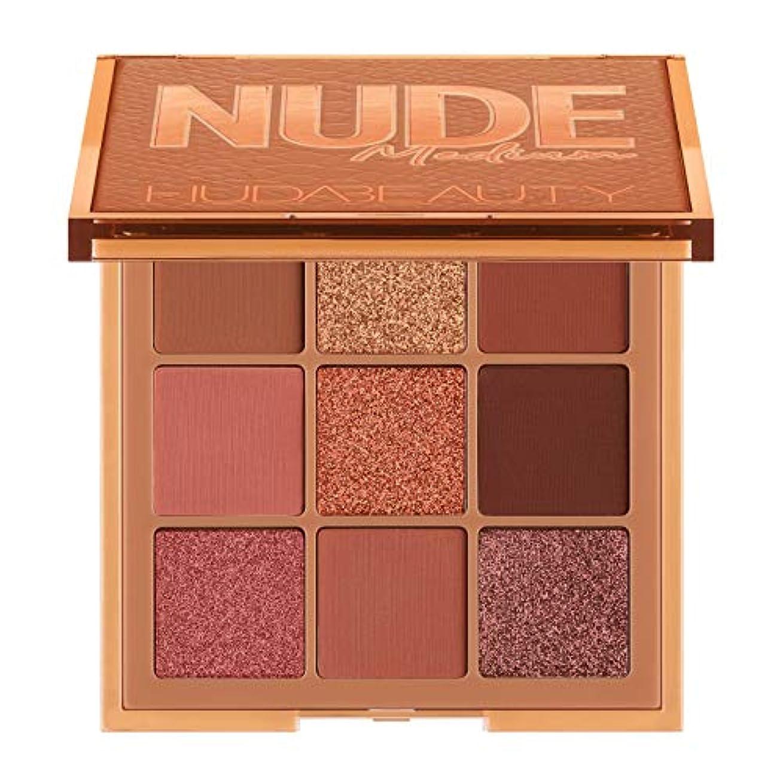 教浅い狐HUDA BEAUTY Nude Obsessions Eyeshadow Palette Nude Medium