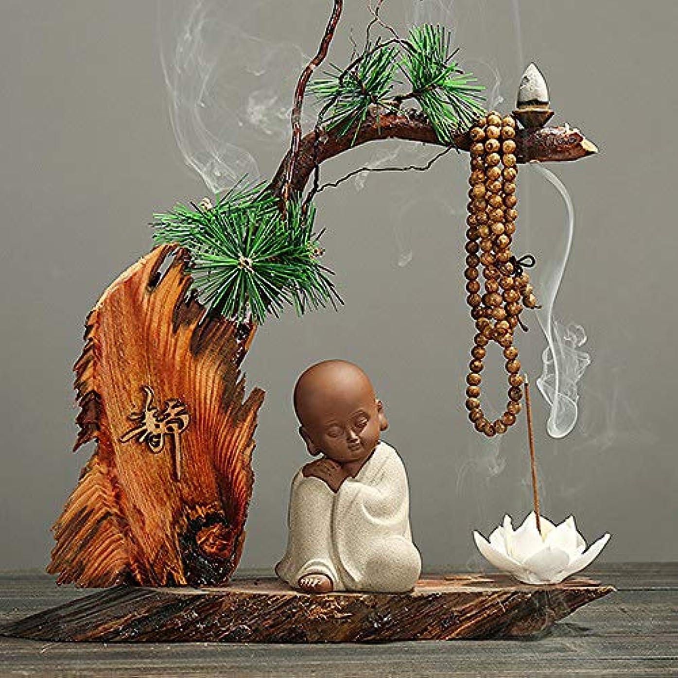 財布モルヒネ土器景色のリターン香炉、家の芳香バーナー、陶磁器の香炉、陶磁器バーナー8 * 10cm