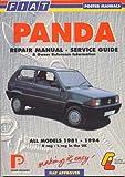 Fiat Panda: Repair Manual and Service (Porter Manuals) 画像