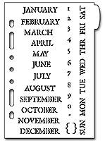 Classic Calendar Plannerステンシル
