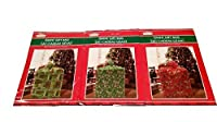 Giant Holiday Gift Bag 3 Pack 36 in x 44 in (Green & Red)