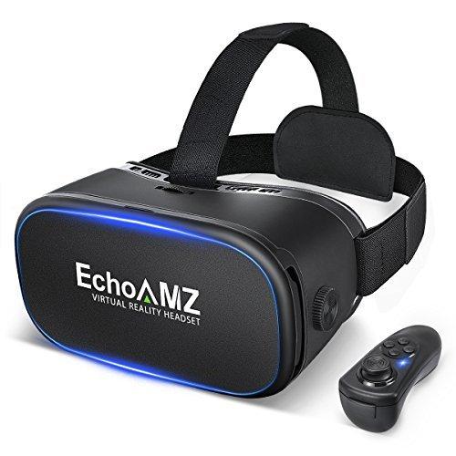 『EchoAMZ 3D VRゴーグル Bluetoothコントローラ付属 (ブラック)』のトップ画像
