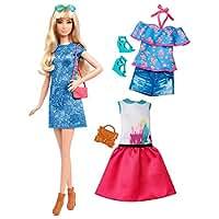 Barbie バービー ファッショニスタドール 43 レイシーブルードールと衣装 長身 Fashionistas 43 Lacey Blue Doll & Fashion - Tall[並行輸入]