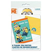 Minions Despicable Me - Thank You Notes (8) - ♪ハロウィン♪クリスマス♪