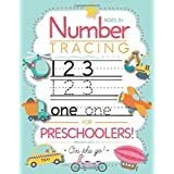 Number Tracing Book for Preschoolers and Kids Ages 3-5: Trace Numbers Practice Workbook for Pre K, Kindergarten and Kids Ages