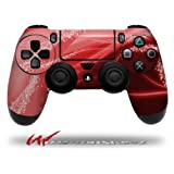 Mystic Vortex Red - Decal Style Wrap Skin fits Sony PS4 Dualshock Controller (CONTROLLER NOT INCLUDED) by WraptorSkinz [並行輸入品]