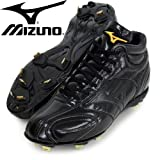 MIZUNO(ミズノ) ベースボール 樹脂底スパイク ミズノプロ AT MU メンズ ブラック/ブラック 11GM140100