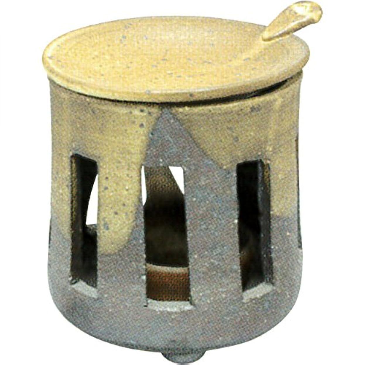高い熟読する小麦粉茶香炉 : 常滑焼 焜清 茶香炉?サ39-03