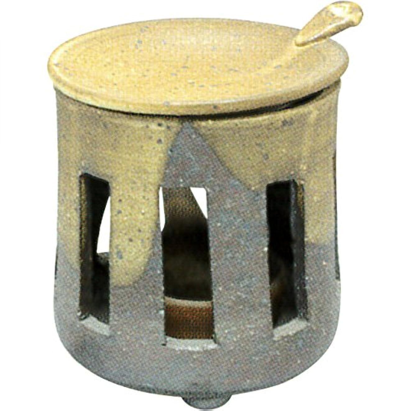 球体バッグ涙茶香炉 : 常滑焼 焜清 茶香炉?サ39-03