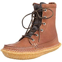 Quoddy Trail Moccasin Grizzly Boot 1004C: Peanut Brown