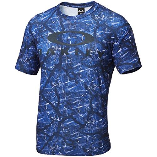 (オークリー)OAKLEY メンズ トレーニングウェア 半袖Tシャツ 456682JP 67H フリーダムブルー S