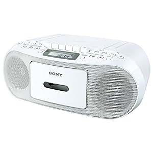 ソニー CDラジオカセットコーダー ホワイト CFD-S51/W